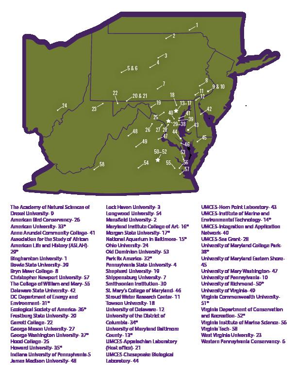CHWA CESU map with patrners